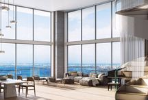 INTERIOR / Auberge Miami Residences and Spa will be a truly a residential masterpiece. Residences will feature first class custom Italian kitchens with Sub Zero and wolf appliances, the top of the line bathrooms were designed by world-renewed Piero Lissoni and the exotic high rise will boast expansive 1, 2 and 3 Bedroom floorplans with glass floor-to-ceiling windows providing residents with stunning unobstructed Ocean views.
