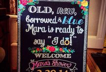 personalized chalk boards