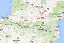Zuid Frankrijk en Noord Spanje. Baskenland, Navarra en de Pyreneeën.