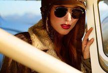 leather hats/aviator`s hats