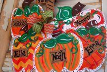 Doorhangers-Halloween / by Glenda Huggins