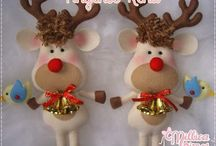 renas de natal