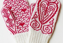 KNITTING - MITTENS / by Diane Massing