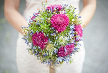 Bridal- Colourful / Bridal flowers inspiration in a variation of different mixed colours