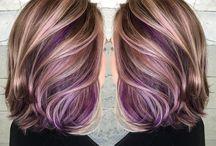 Peekaboo haarkleur
