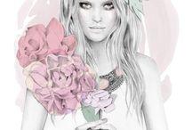 People n flowers