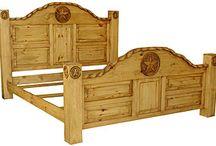 Rustic Pine Furniture ~ Bedroom Furniture / Bedroom Furniture  Visit us today: http://www.LaFuente.com