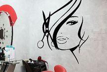 Salon walls