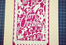Christmas paper cuts / The perfect gift to celebrate the festive season.