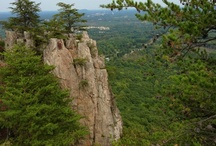 Take a hike! / Experienced rock climbers will enjoy the challenges of Crowders Mountain. But don't worry, if you're not experienced, we will give you some tips and tricks for hiking. :)