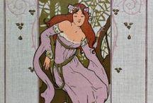 Alfons Mucha / malířství