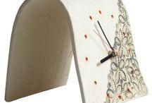 Zegar ceramika