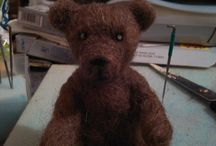 my needlefelt / just started needle felting.