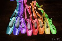 Pointe shoes / I love my pionte shoes, wish they looked like these though / by Kayley
