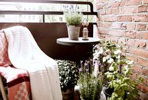 Charming balconies & patios