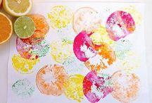 Les saveurs en couleur