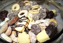 vánoční cukroví / cukroví, krémy, koláče, řezy
