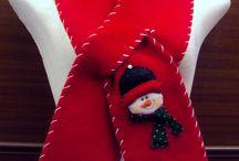 bufandas navideñas