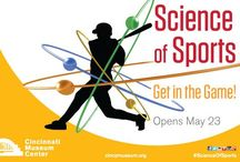 Science of Sports / Lace up your tennis shoes, stretch out those muscles and come in to Cincinnati Museum Center to work up a physical and mental sweat! Our Science of Sports exhibit challenges your body and mind as you explore how incredible feats of athleticism are just science at work. https://www.cincymuseum.org/exhibits/science-of-sports / by Cincinnati Museum Center