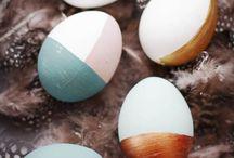 Metallic Easter Decorations