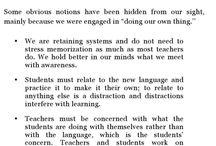 common sense of teaching a foreign language / Common sense of teaching