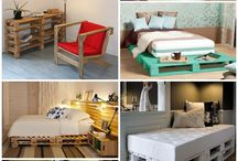 Pallets furniture and more
