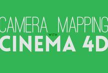 CINEMA 4D CAMERA MAPPING