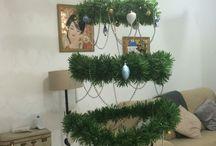 Árbol de Navidad colgante