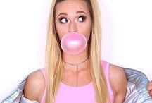 pink photoshoot