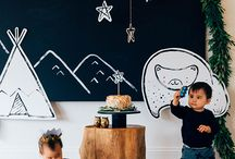 {Backdrops} / Ideas for backdrops at kids parties