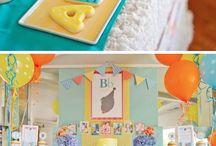 party // Sawyer's 1st birthday