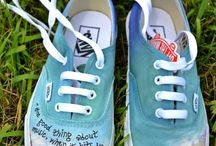 painted shoes & more