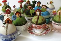 Pin Cushions / by Lori Masley