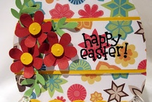 (AH) Cards ~ Easter / Happy Easter, Happy Spring. Wishing you the best of everything !