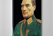 ATATÜRK Tabloları / Ulu Önder Mustafa Kemal ATATÜRK'ün Dekoratif Modern Kanvas Tabloları https://www.tabloshop.com/ataturk-tablolari