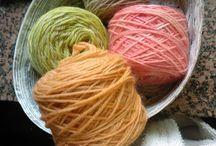 Arte tintoria / Come tingere la lana e le fibre