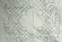 vzory vitráže