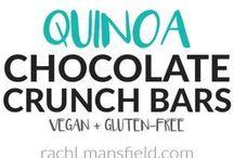 Quinoa Chocolate crunch bars