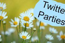 Twitter Parties / Una lista de todos los twitter parties disponibles