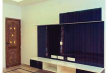 Shankar Kuppusamy's Home, Chennai / A 3BHK home in KK Nagar, Chennai, has been brought to life with HomeLane's line. The client wanted the basic modules in a variety of shades. Designer: Rajkumar Sreenivasan