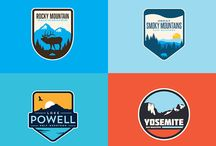 Logos, badges & pins National Parks