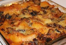 Pasta al forno / Pasta al forno con ragu e melanzane