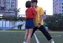 Cute couple // sometimes ulzzang | awesome