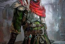RPG fantasy - characters