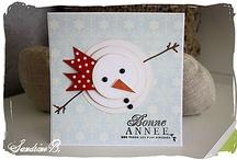 Carte Noël-Bonne année