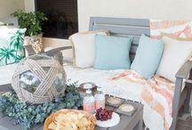 Patio, Porch, Deck, Backyard & Outdoor Ideas / Ideas and tips for your patio, porch, deck, backyard, front yard, and garden.