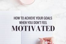 Motivation and goals