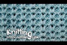 Видео.Вязание