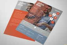 Resume Templates Free / Creatives resume templates free psd files  http://www.ultraupdates.com/2013/11/amazing-and-creative-resume-free-psd-template/