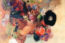 "Odilon Redon / (1840 – 1916) French symbolist painter, printmaker, draughtsman and pastellist. During his early years as an artist, Redon's works were described as ""a synthesis of nightmares and dreams"", as they contained dark, fantastical figures from the artist's own imagination. His work represents an exploration of his internal feelings and psyche. He himself wanted to place ""the logic of the visible at the service of the invisible""."
